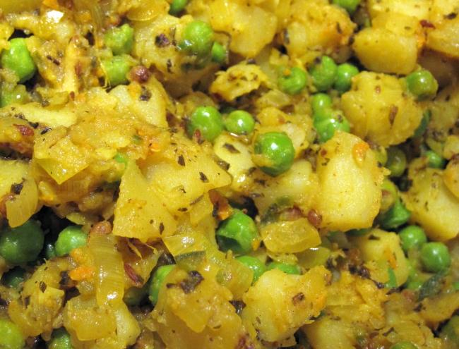 Samosa-kartofler